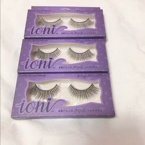 Eyelashes Wispy Natural ioni Mink lashes